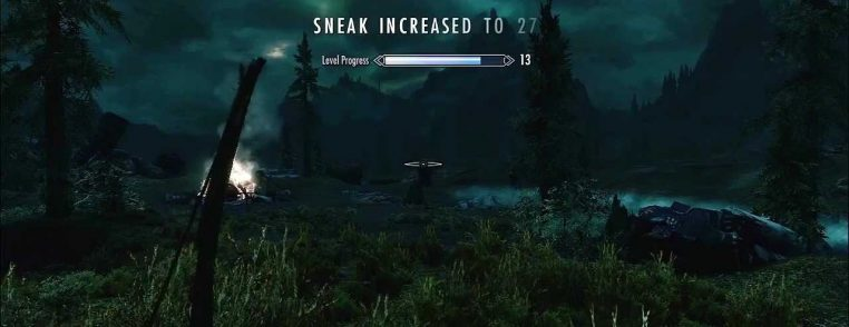 Skyrim: Positive reinforcement and reward in video game design