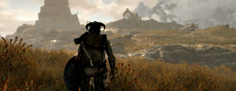 Immersion in Skyrim's game design
