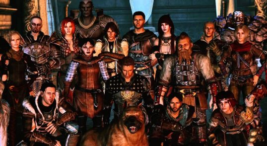 Character building for open world games